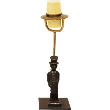 Brass Salt Shaker By Walter Bosse For Hertha Baller