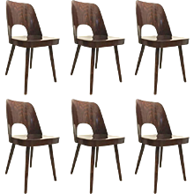 Dining Chairs by Oswald Haerdt