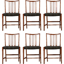 Set of Six Dining Chairs by Hans Wegner
