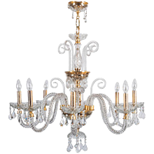 Bohemian Glass Chandelier
