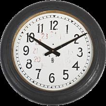 Siemens Halske Factory, Workshop or Train Station Clock