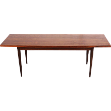 Danish Rosewood Conference Table