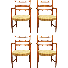 David Rosèn Cherry Armchairs Futura for Nordiska Konpaniet