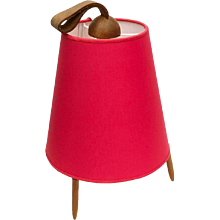 J. T. Kalmar Table Lamp Form the 1950s