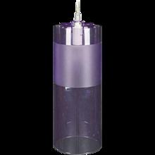 Purple Kartell Easy Pendant Light Designed by Ferruccio Laviani