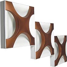 """Large Staff """"Oyster"""" Flush or Wall Mount"""