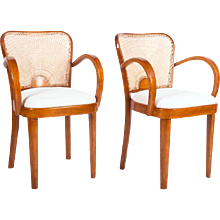 Set of Two Fischel Dining Armchairs