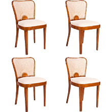 Set of Four Fischel Dining Chairs