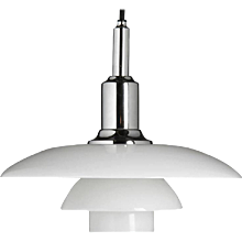 Poul Henningsen PH 3/2 Pendant Chromed
