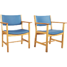 Armchairs by Hans Wegner for GETAMA