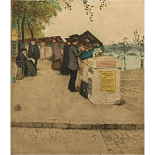 "Tavik Frantisek Simon ""Motif From Seine, Paris"""