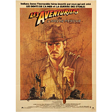 "Original Film Poster ""Les Aventuriers de L´arche perdue"" Raiders of the Lost Ark"