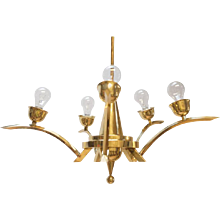 Art Deco Chandelier, circa 1930s