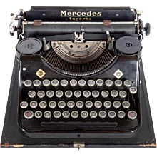Mercedes Superba Typewriter
