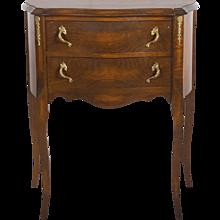Oak Console Table Louis XV Style