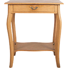 Small Oak Console Table