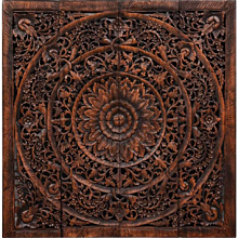 Wooden Oriental Wall Decoration