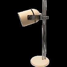 Vintage Mid-Century Crème Table Lamp