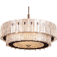 Large Austrian Exclusive Chandelier by Rupert Nikoll