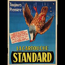 French Poster, 'La Cartouche Standard,' Toulouse, circa 1930