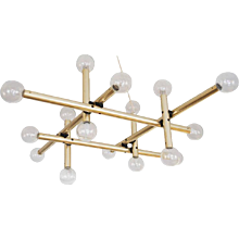 Austrian Large RS-System Chandelier by Kalmar