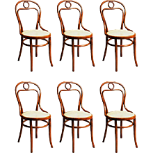 Set of Six Thonet No. 31 Chairs
