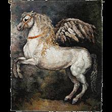 """Large Tapestry """"Pegasus"""" By Beata Rosiak"""