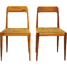 Pair of Carl Auböck Mod. A 7 Chairs