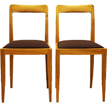 "Pair of Julius Jirasek Chairs for ""Werkstätten Hagenauer"""