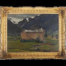 Oil Painting by Rudolf Hafner