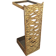 Cast Brass Umbrella Stand from the 1960s