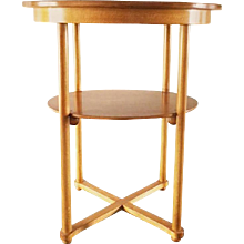 Thonet Side Table by Josef Hoffmann
