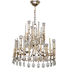 Chandelier by Gaetano Sciolari from 1960s