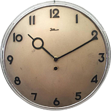 Junghans Bauhaus Wall Clock from the 1930s