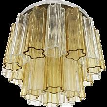 Flush Mount Venini Tronchi Glass