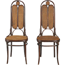 Pair of Thonet Nr. 16 Chairs