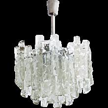Kalmar Ice Glass Chandelier