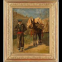 Egron Lundgren Oil on Canvas