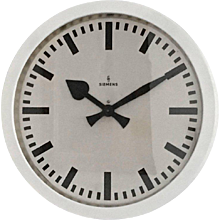 Very Big Industrial, Station, Factory Siemens Clock