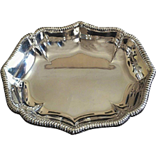 Silver Plate from the Late 1970s