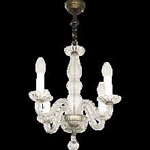 Beautiful Venezian Glass Chandelier