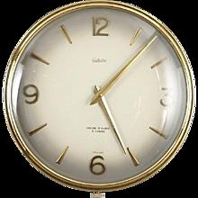 Large Mid-Century Wall Clock