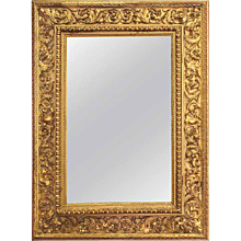Italian Louis XVI Gilt Wood Mirror