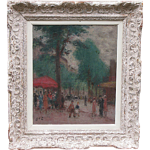 Painting by Georges d'Espagnat