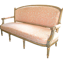 French Canape', Late 18th Century