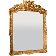 French Regence Pier Mirror, 18th Century
