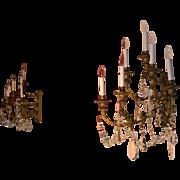 Louis XVI Style Sconce Pair