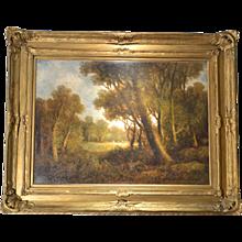 Wesley Webber, 19th Century Landscape, Oil on Canvas