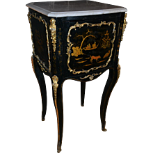 French Chinoiserie Nightstand