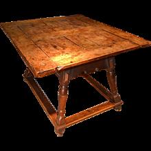 Baroque Table, 17th Century